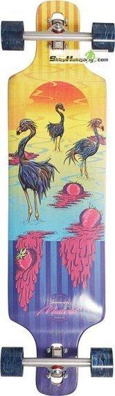 Madrid Flamingos Kompletny Longboard