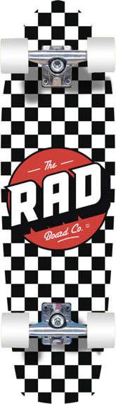 RAD Retro Checker Cruiser Board